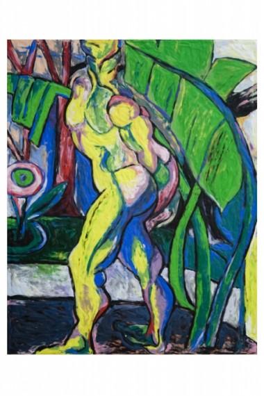"""O homem de sete cores, 1915-16, Anita Malfatti"", 2008"