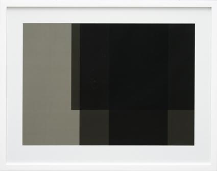 Transparency Black (TB01-B), 2009