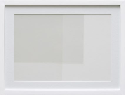 Transparency White (TW03-D), 2009