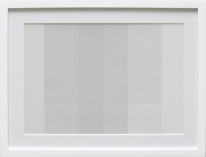 Transparency White (TW06-D), 2009