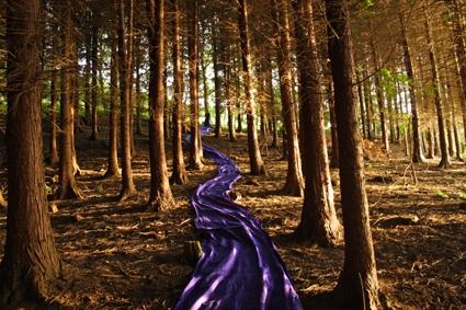 Purple Green 4, 2008