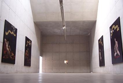 Panorâmica da exposição na Galeria Leme