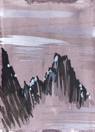 Peuterey Ridge, French Alps, 2008
