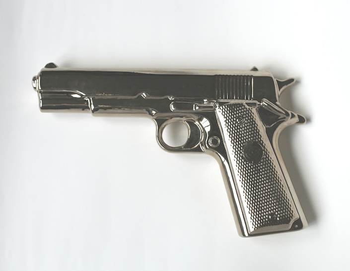 Prop from Gasoline. Mia Wallace's Gun 01, Heist Films Project, 2013
