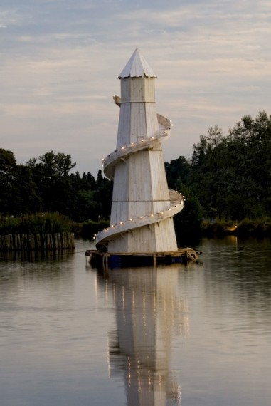 Helter-Skelter-lighthouse, 2009
