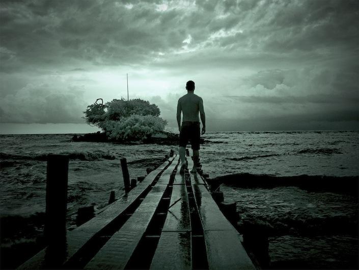 Homem na ilha dos amores, da Série Nightvisions, 2013