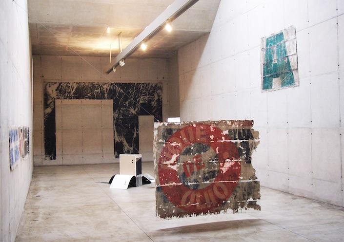 Exercícios Superficiais para Galeria, 2010