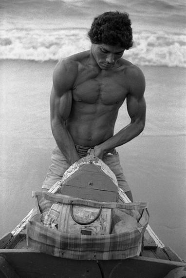 Carregando canoa, 1986