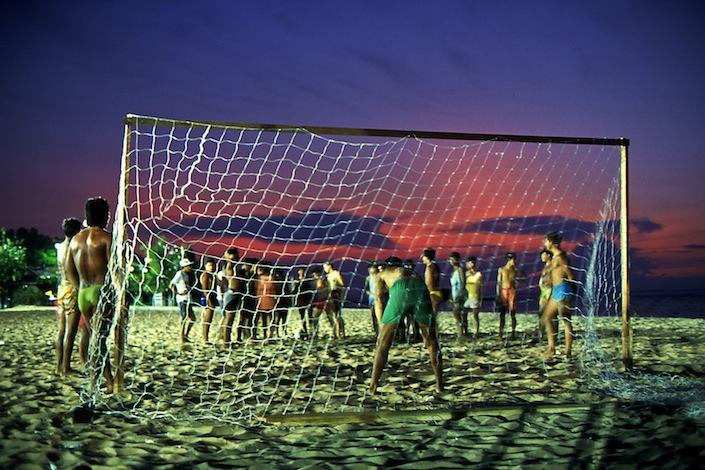 Futebol na praia, 1988