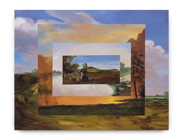 El marco del paisaje III, 2017