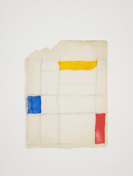 Homenagem (teste com cores P. Mondrian), 2016
