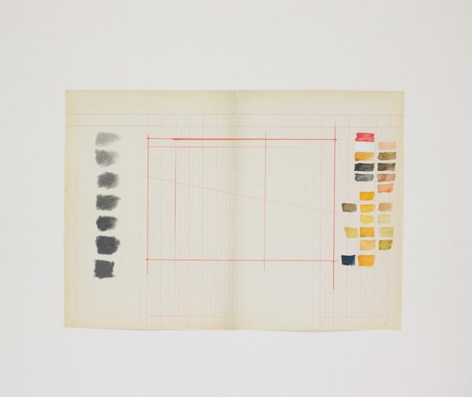 Homenagem (Teste de cores W. Kentridge), 2016