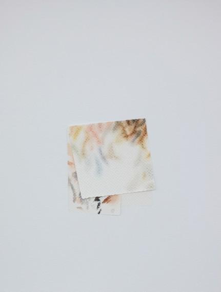 Autorretrato como papel toalha sujo de tinta III, 2017
