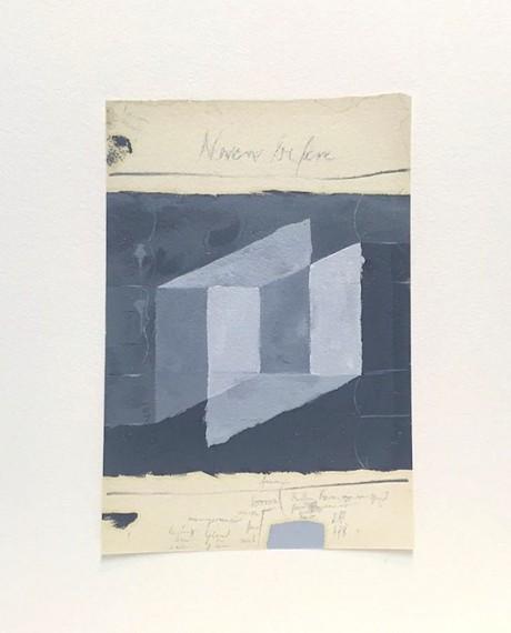 Homenagem (teste com cores Mondrian) IV, 2016