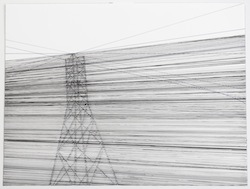 Jessica Mein_Untitled (Blackout) #7, 2012_Drawing on paper_31 x 41 cm
