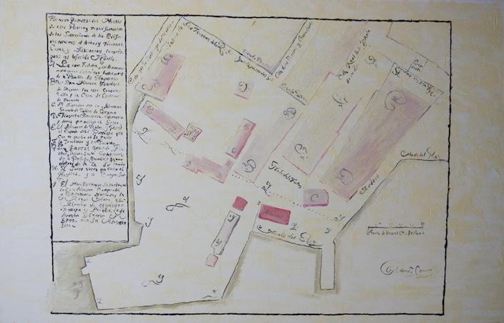 Puerto de Puerto Cabello, de la serie Según el Archivo General de Indias, 2012