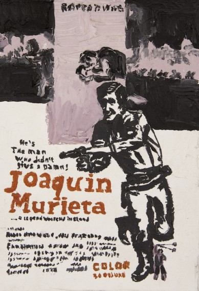 Joaquin Murieta the man who didn't give a damn, 2014