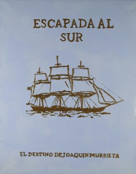 Afiche Escapada al sur (El destino de Joaquin Murieta), 2015