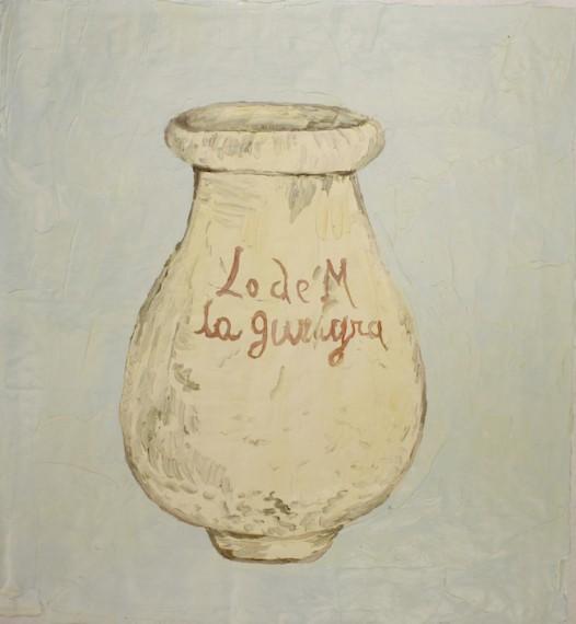 Tinaja L. de M. la Guayra. siglo XVIII (de la serie alfareria venezolana), 2014