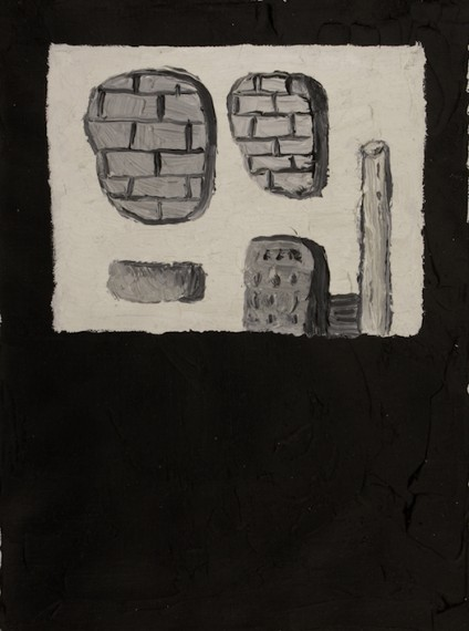 Série Guston revisitado (catalogo blanco y negro), 2014
