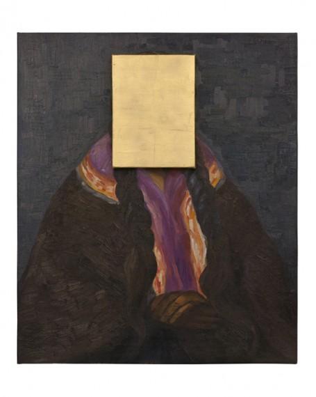 Pan de Oro sobre Retrato Indigenista, 2014