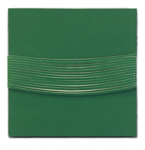 Espaço-laço, série verde n.1, 2011