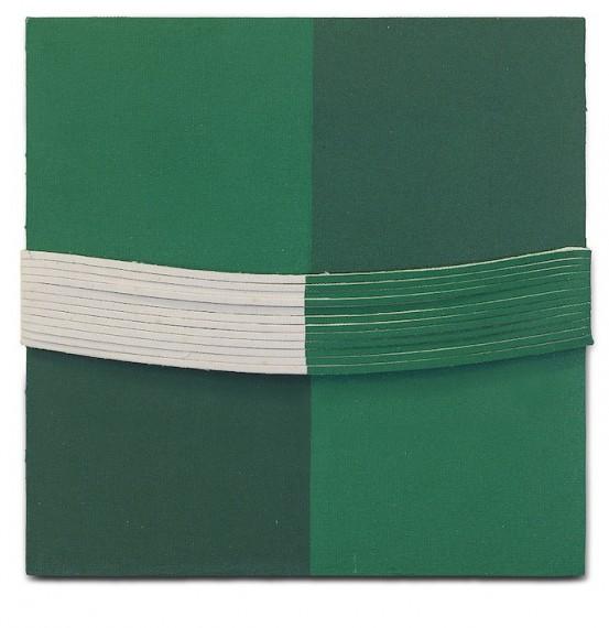 Espaço-laço, série verde n.5, 2011