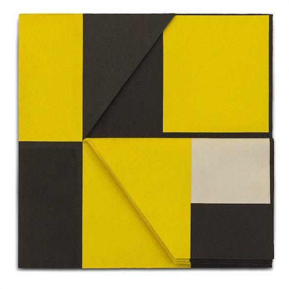 Relevo (amarelo-preto) N.1, 2010