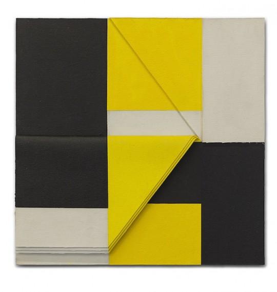 Relevo (amarelo-preto) N.3, 2010