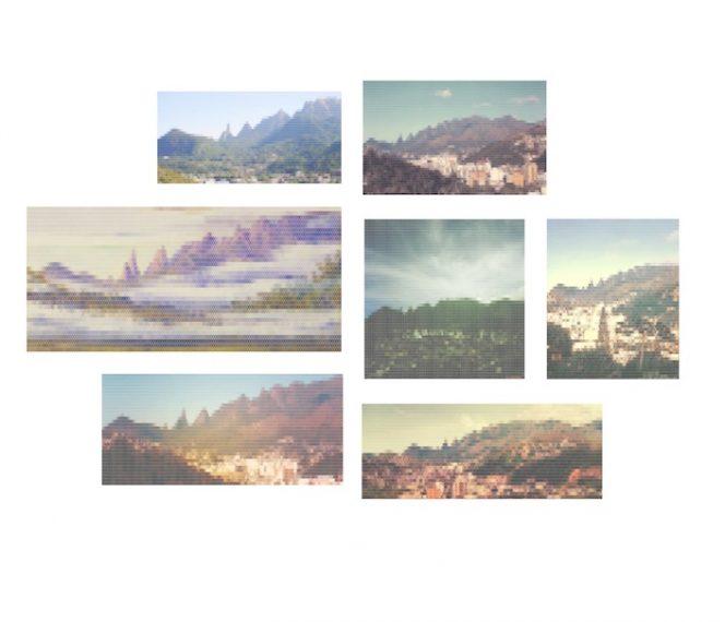 Vista da Serra dos Orgãos desde Teresópolis, 2010-2015
