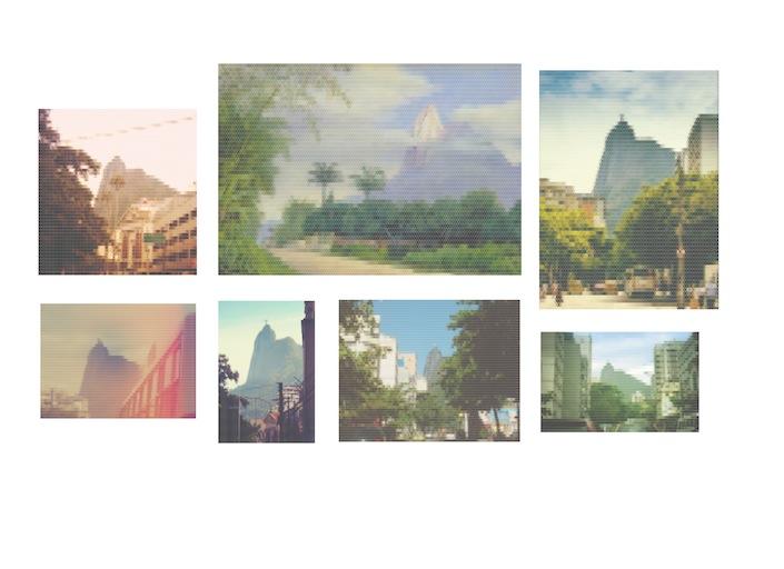 Vista da Montanha do Corcovado, Perto do Rio de Janeiro (Rua São Clemente), 2010-2015