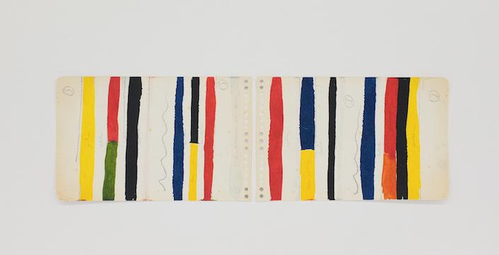 Homenagem (teste de cores E. Kelly) II, 2016