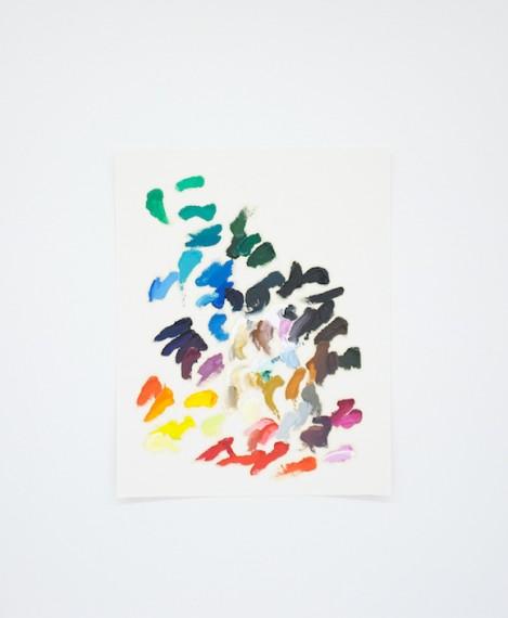 Homenagem (teste de cores E. Peyton) I, 2016