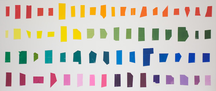 Homenagem (teste de cores H. Matisse) I, 2016