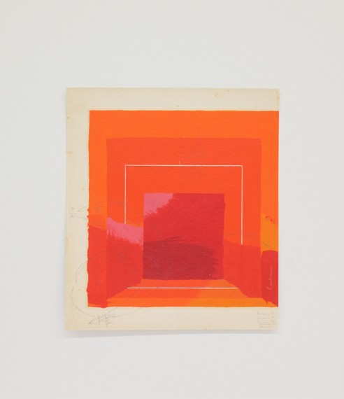 Homenagem (Teste de cores J. Albers) III, 2016