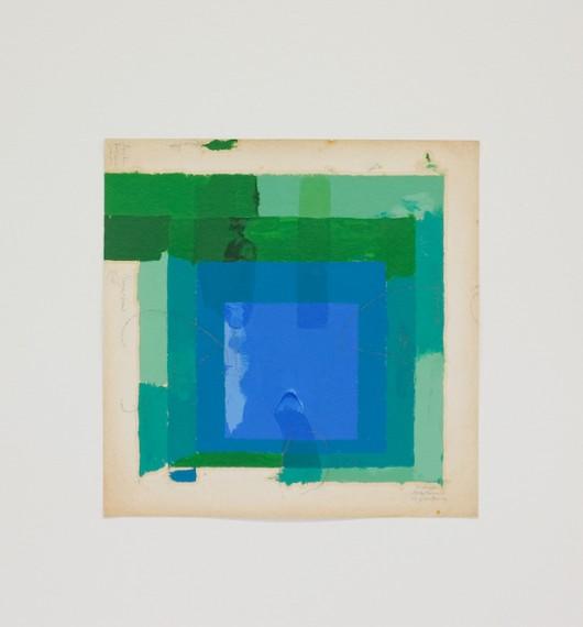 Homenagem (teste de cores J. Albers) II, 2016