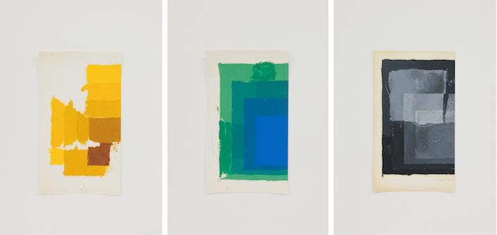 Homenagem (teste de cores J. Albers) IV, 2016