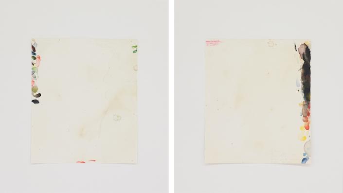 Homenagem (teste de cores W. Turner) I, 2016