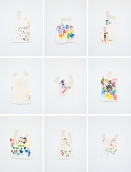 Autorretrato como teste de cores IV, 2016