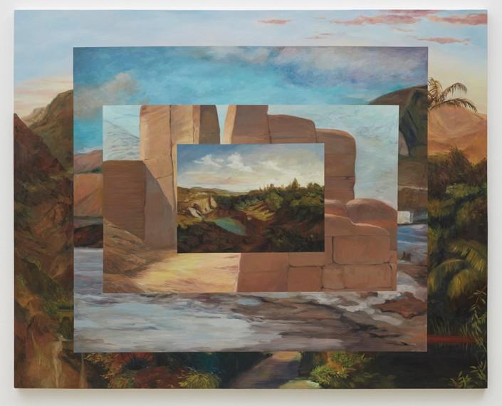 El marco del paisaje II, 2015