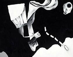 Antonio Malta Campos_Preto, 2018_oil on canvas_140x180 cm