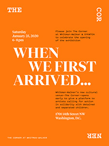 TheCorner-WhenWeFirstArrived-Invitation