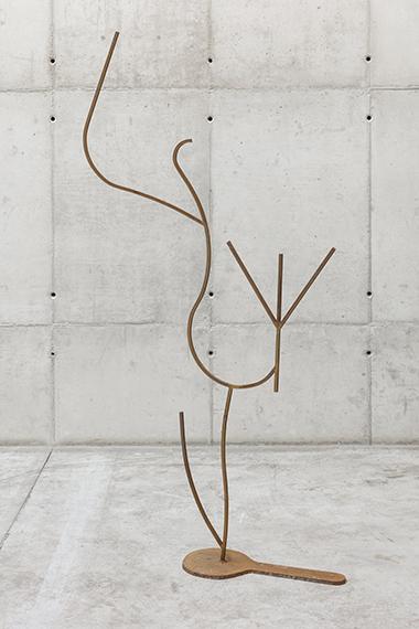 Palavras de ferro e ar - Escultura 6 (da série Como colocar ar nas palavras), 2019