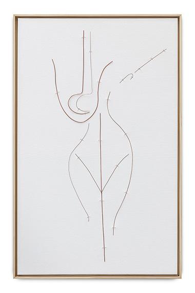 Notebook 2 - canvas 4 (from the series Como colocar ar nas palavras), 2020