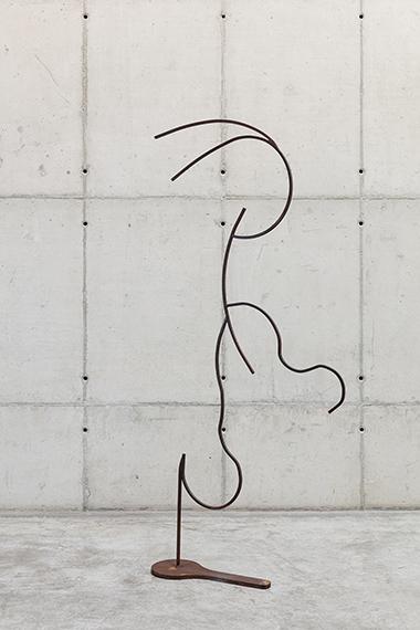 Palavras de ferro e ar - Escultura 12 (da série Como colocar ar nas palavras), 2020