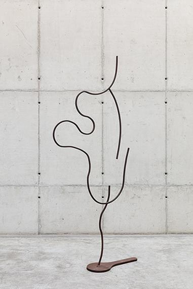 Palavras de ferro e ar - Escultura 15 (da série Como colocar ar nas palavras), 2020