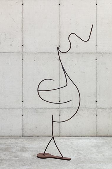Palavras de ferro e ar - Escultura 7 (da série Como colocar ar nas palavras), 2020