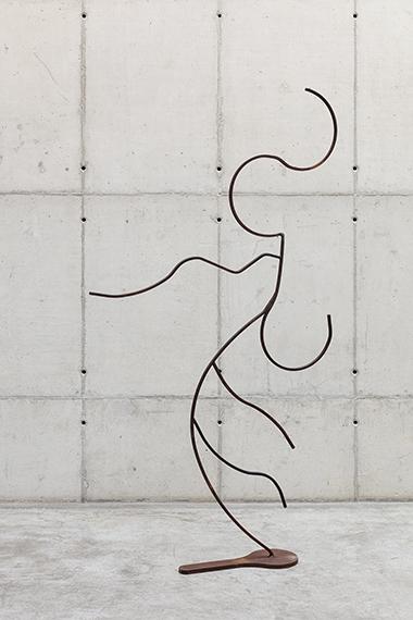 Palavras de ferro e ar - Escultura 9 (da série Como colocar ar nas palavras), 2020