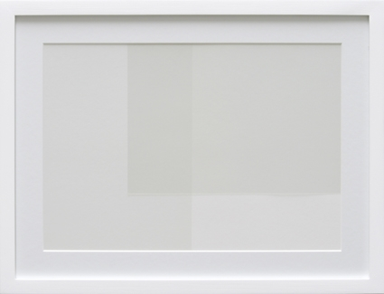 Transparency White (TW02-D), 2009