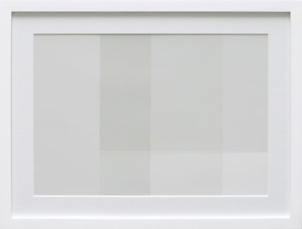 Transparency White (TW07-D), 2009